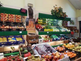 Frutas verduras frescas en Burgos